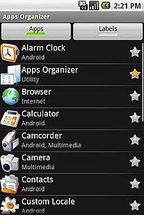Apps Organizer