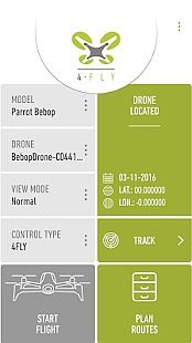 4FLY drone Parrot Bebop, 3DR
