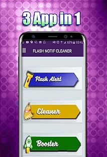 Alerte notification FLASH COLOR With Boost & Clean