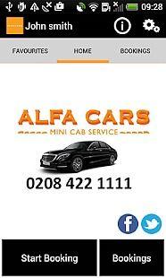 Alfa Cars Minicab London