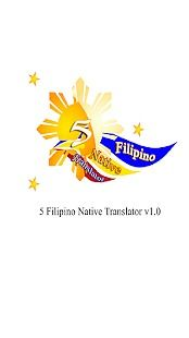 5 Filipino Native Translator