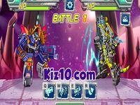 Epic Robot Battle by Kiz10