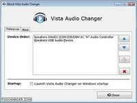 Vista Audio Changer