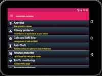AntiVirus Android for Tablet