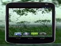 4K Rain Drops on Window Video Live Wallpaper