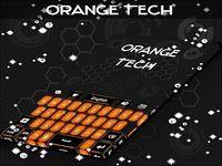 Thème du clavier Orange