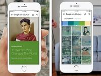 Google Arts et Culture pour iOS