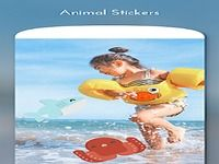 Animal Sticker for Photo Editing