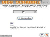 Dico scrabble