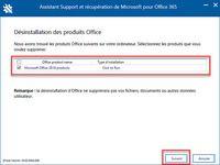 Outil de désinstallation Microsoft Office