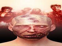 Montage photo visage Zombie