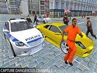Police voiture chasse 3d échapper Jeux