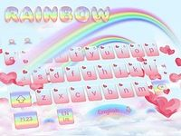 Amour Rainbow clavier Theme Love Rainbow