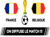 Affiches de Diffusion des matches de la coupe du monde
