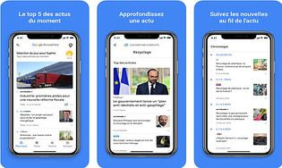 Google Actualités iOS