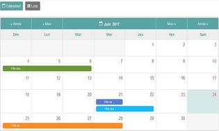 wordDev Simple Calendar