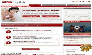 Cours d'anglais en ligne ABA English