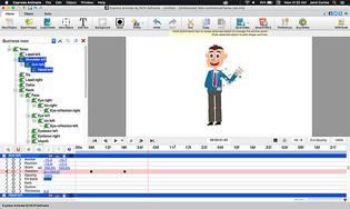Express Animate - Animation 2D pour Mac