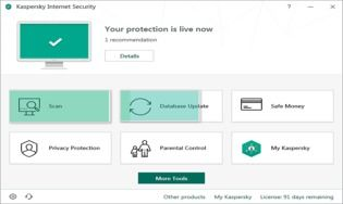 Kaspersky Internet Security 2020 Technical Preview