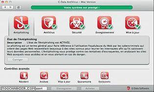 G Data Antivirus pour Mac