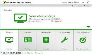Norton Security avec Backup