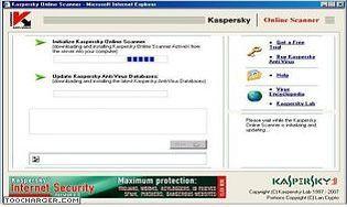 Kaspersky Virus Scanner Online