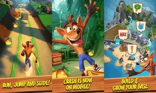 Crash Bandicoot Android