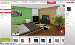 logiciel architecture interieur simple