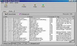 Web Data Extractor