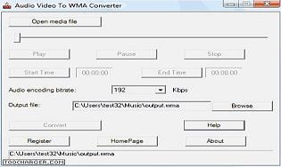 Audio Video To WMA Converter