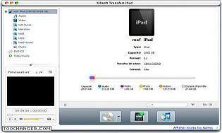 Xilisoft Transfert iPad Mac