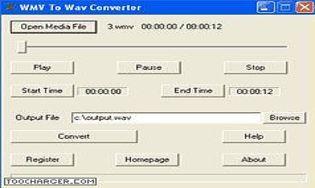 WMV To WAV Converter