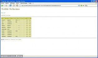 MySQL Web Interface