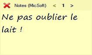 Notes (MicSoft)
