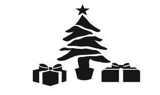 Kit de pochoirs de Noël
