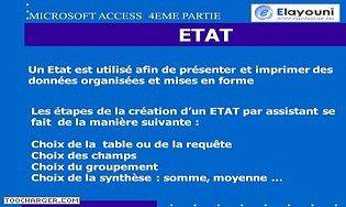 Access Etats