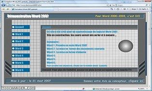 Word 2007 - Cours gratuit