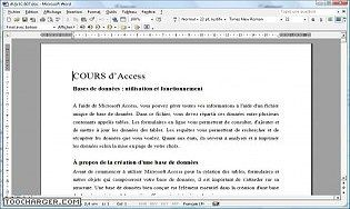 Cours Access