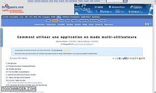 Comment utiliser une application en mode multi-utilisateurs
