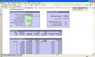 logiciel calcul de pr ts et amortissements t l charger des logiciels pour windows finances. Black Bedroom Furniture Sets. Home Design Ideas