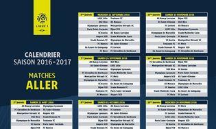 Calendrier Ligue 1 2016 2017 : Télécharger gratuitement la