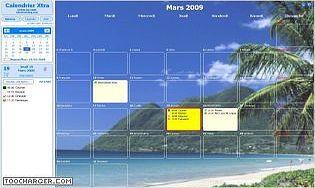 application calendrier pour windows 7