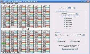 Calendrier Automatique : Télécharger gratuitement la dernière version