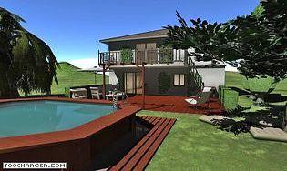 t l charger maison terrain et jardin 3d. Black Bedroom Furniture Sets. Home Design Ideas