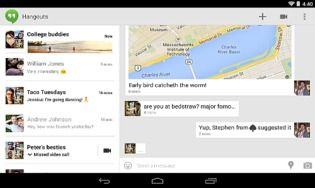 Hangouts pour Android