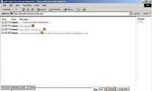 Advanced ASP chat