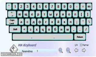 MA Keyboard