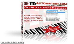 IDAutomation Code 128 Barcode Fonts