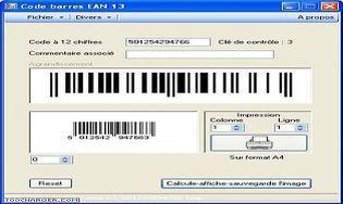 Code-barres EAN 13
