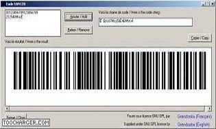 Code barre EAN128